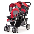 Chicco Together Double Stroller - Fuego (Red)