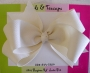 "5"" Ivory Boutique Bow"