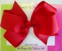 "5"" Red Boutique Bow"
