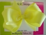 "5"" Yellow Boutique Bow"
