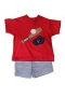 "Bailey Boys ""Baseball"" Short Set"