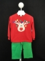 "Bailey Boys ""Christmas""  Reindeer pantset"