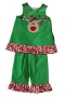 "Bailey Boys ""Christmas""  Reindeer pant set"
