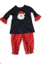 "Bailey Boys ""Christmas"" Santa Tunic Pant Set"