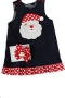 "Bailey Boys ""Christmas""  Santa Riversible Jumper W/Ruffles"