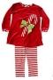 "Bailey Boys ""Christmas""  Candy Cane Tunic Pant Set"