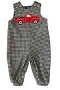 "Bailey Boys ""Red Truck"" Reversible John John"