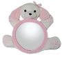 Bearview Infant Rearview Mirror Pink Pup
