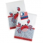 Mudpie Crab Burp Cloth