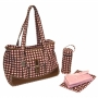 Kalencom New Orleans Hevenly Dots-Pink Week-Ender Bag