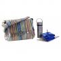 "Kalencom New Orleans ""Cobalt Stripe"" Laminated Buckle"