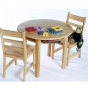 Kids Round Table and Chairs Set