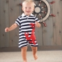 Mudpie Crab Polo One Piece