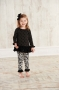 Mudpie Diva Ruffle Top And Damask Leggings