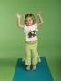 Mudpie Elephant Fold Over Yoga Pant Set
