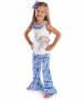 Mudpie Safari Elephant Pant Set