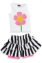 Mudpie  Flower Skirt Set