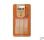 Rico Alto Sax Reeds (3 Pack)