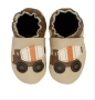 Robeez Soft Soles Cement Truck - taupe