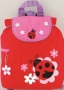 """Stephen Joseph """"Lady Bug"""" Quilted Backpack"""