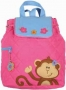 "Stephen Joseph ""Monkey Girl"" Quilted Backpack"