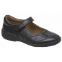Stride Rite Carla Dark Brown Leather Shoes