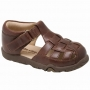 Stride Rite Reid Brown Leather Sandals