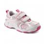 "Stride Rite ""Coralee White/Pink"