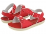 Sun-San Salt Water Sandals - Salt Water Surfer Red