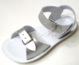 Sun-San Salt Water Sandals - Salt Water Surfer Silver