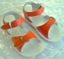 Sun-San Salt Water Sandals - Salt Water Surfer Orange