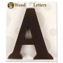 (A thru Z )Wall Mount or Free Standing Wooden Letters